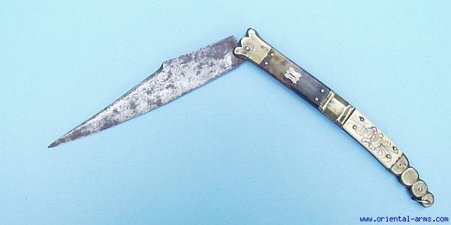 Navaja Knife 19 c Spanish Navaja Knife