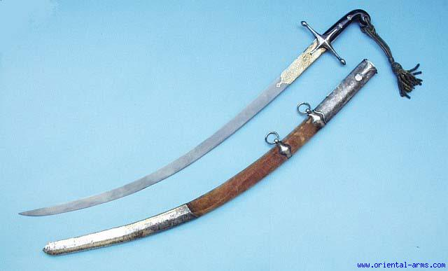 Oriental Arms Very Fine Turkish Ottoman Shamshir Kilij
