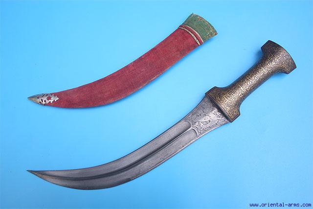 Oriental-Arms: Fine Indo-Persian Jambiya / Khanjar Dagger ...